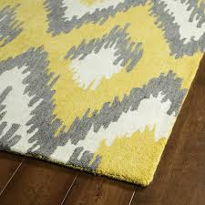 Best Area Rugs Yellow And White Area Rug 9932