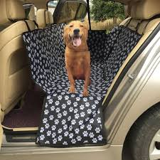 bichon frise golf head cover car pet seat cover oxford fabric paw pattern pet travel