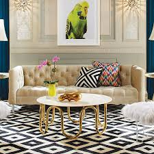 furnitures midcentury modern living room with tufted sofa and