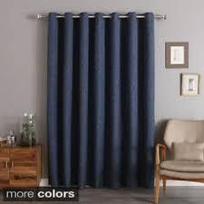 Double Wide Grommet Curtain Panels Wide Width Curtains U0026 Drapes Shop The Best Deals For Dec 2017