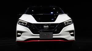 nissan leaf 2017 nissan leaf nismo concept zaps into tokyo motor show roadshow
