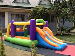 inflatables troline for rent cebu balloons and supplies