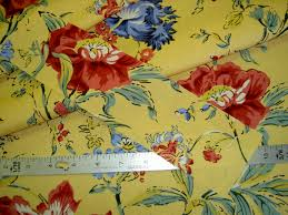 Designer Home Decor Fabric by Duralee Suburban Fabrics Provincial E20494 367 Sungold Home Decor