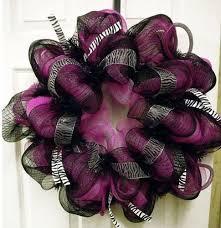 geo mesh wreath 10 best purple images on burlap wreaths deco mesh