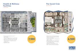social at church and dundas condos garden district floor plans on the 52nd floor is the social club which is the leisure and entertainment area that includes an outdoor terrace at this height you will have some of the