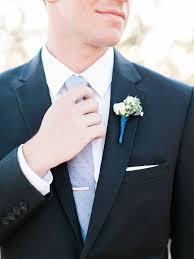 Royal Blue Boutonniere Modern Real Wedding In Scottsdale It Weddings