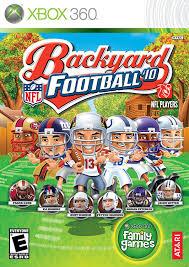 backyard football 10 xbox 360 computer and video games amazon ca