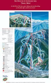 New Mexico Ski Resorts Map by Ski Resort Directory Ski Resort Directory Free Shipping With