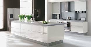 cuisine blanche et grise cuisine blanc et meuble cuisine blanc et deco cuisine