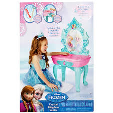 frozen vanity table toys r us disney frozen ice castle vanity toys r us