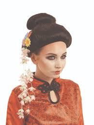halloween doll wig geisha doll wigs wigs by unique