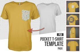 mens pocket t shirt template mockup psd best of men u0027s apparel