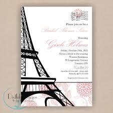eiffel tower invitations eiffel tower invitations weddings quinceañera by dearemma
