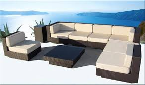 luxor sectional sofa set outdoor wicker las vegas patio furniture set
