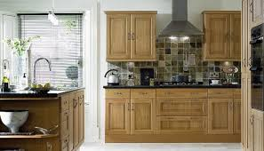 love these tiles with the black top b u0026q solid oak kitchen images