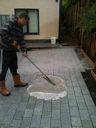 Cement Mix For Pointing Patio by How To Point Natural Stone Paving Quickly London Stone Blog