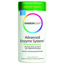 rainbow light advanced enzyme system rainbow light advanced enzyme system 90 capsules vitamin grocer uk
