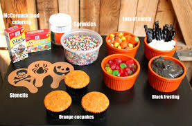 halloween cupcake decorations for kids