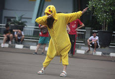 Pikachu Costume Pikachu Costume Editorial Photography Image Of 75825427