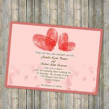 save the date invitation heart shaped finger print save the date cards ewstd027 as low