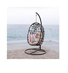 Patio Chair Swing Amazon Com Best Selling Egg Shaped Outdoor Chair Patio Rocking