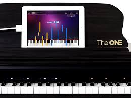 piano with light up keys new music tech teaches guitar piano and more iq by intel