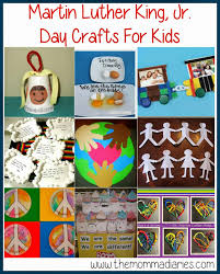 martin luther king jr day crafts for kids the momma diaries