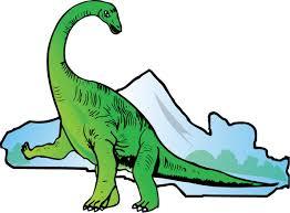 free dinosaur clip art clipart clipartcow clipartix