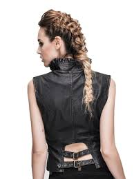 women leather vest u2013 madburner