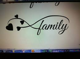 collection of 25 family infinity design