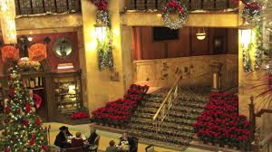 denver holiday tradition christmas at the brown palace youtube