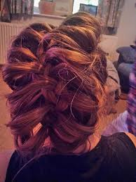 hair plait with chopstick french plait over a chopstick party hair pretty things to try