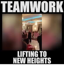 Teamwork Memes - teamwork lpeer60 lifting to new heights meme on sizzle
