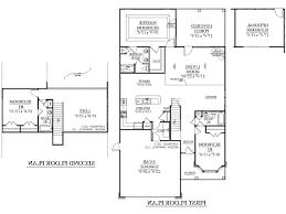 Semi Detached Floor Plans by Plans Semi Detached Garage