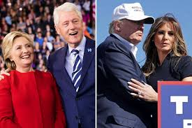 Donald Trump Family Pictures by The Message Hillary And Bill Clinton Will Send By Attending Donald