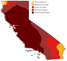 california map drought bay area water supply perspective the california drought map