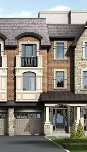 pebble creek exclusive townhome residences by falconcrest homes elevation a