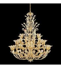 schonbek 7868 22s rivendell 36 light 110v chandelier in heirloom