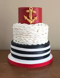 nautical cake a nautical themed 60th birthday caked custom cakes and cupcakes