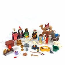 playmobil christmas lot nativity set w wise men set jesus mary