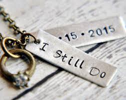 anniversary gifts jewelry 10 year anniversary etsy