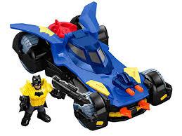 imaginext batmobile with lights dc super friends imaginext batmobile