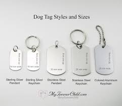 remembrance dog tags dont cry for me poem stainless steel dog tag memorial