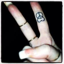 finger tattoo peace peace and love fingertattoo love this but i already have two peace