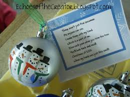 echoes of the creator a preschool christmas craftiness