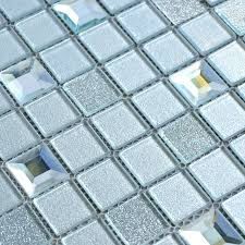 Mirror Bathroom Tiles Wholesale Grey Glass Mosaic Tiles Washroom Backsplash