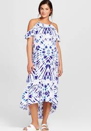 olian print empire waist maternity maxi dress motherhood