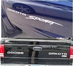 product dodge dakota sport decal sticker kit dodge many colors