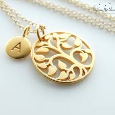 personalized family tree necklace best gold family tree necklace products on wanelo