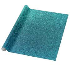 teal wrapping paper zazzle